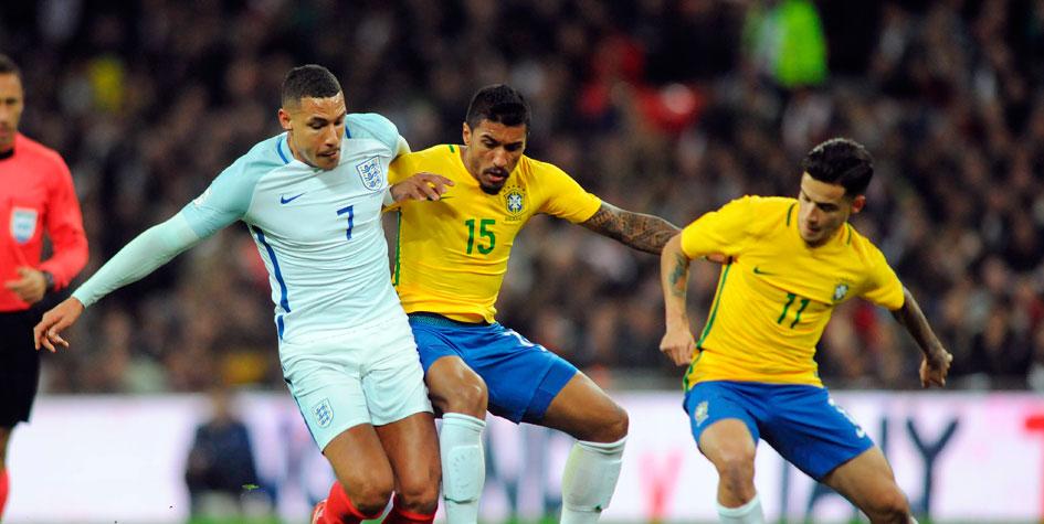 Сборная Бразилии выставит основной состав на матч с Россией
