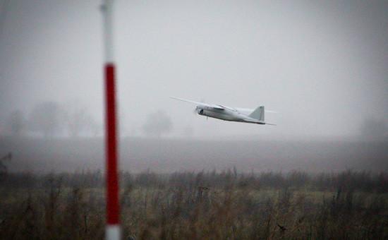 Беспилотный летательный аппарат (БПЛА) «Орлан-10». Архивное фото