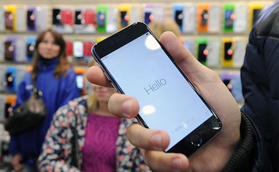 iPhone 6 в магазине «Связной»