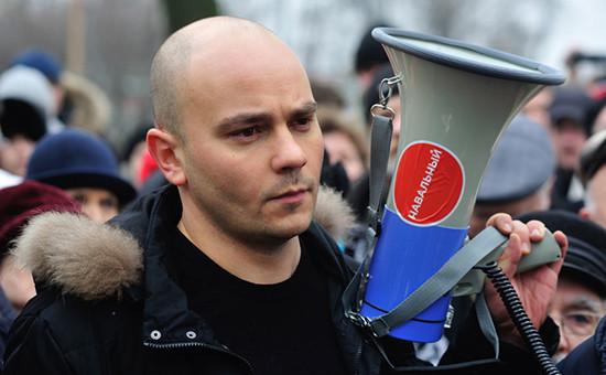 Глава избирательного штаба ПАРНАС АндрейПивоваров. Архивное фото
