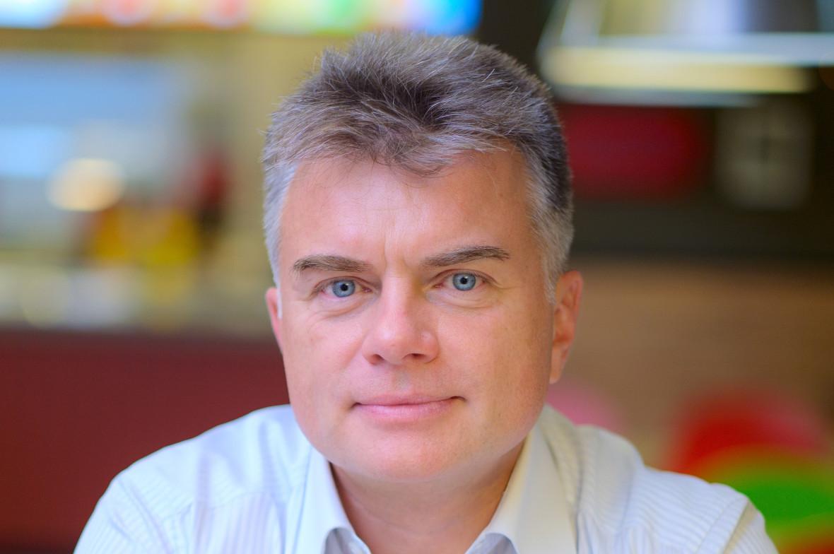 Генеральный директор сети «Теремок» вПетербурге Виталий Свидовский