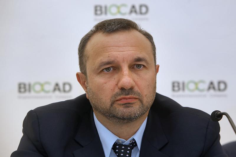 Генеральный директор компании BIOCAD Дмитрий Морозов