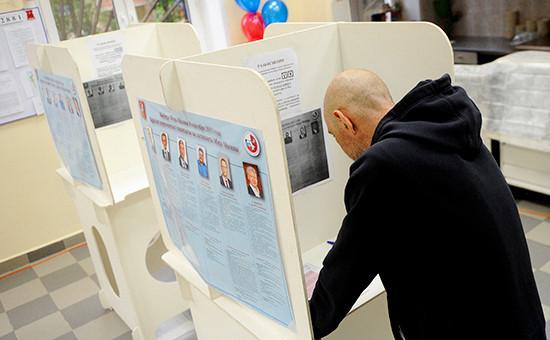 Во время муниципальных выборов вМоскве. 2013 год