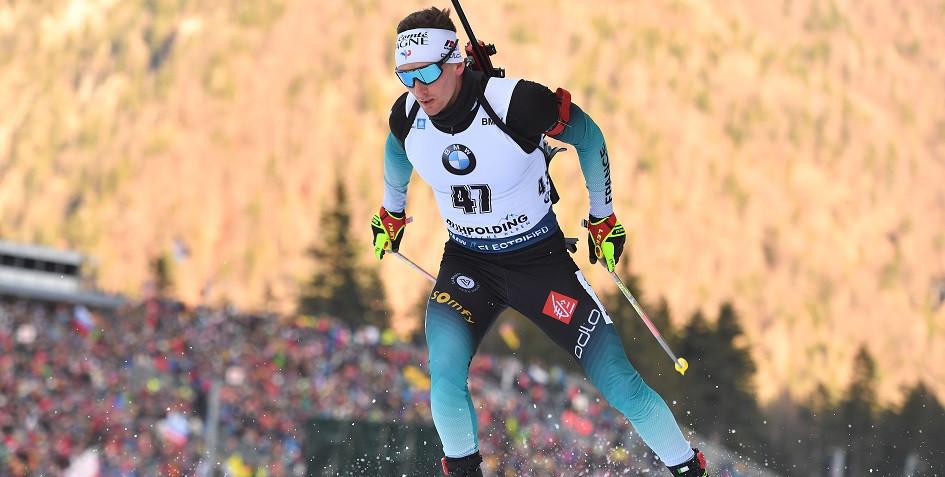 Биатлонист сборной Франции Фабьен Клод