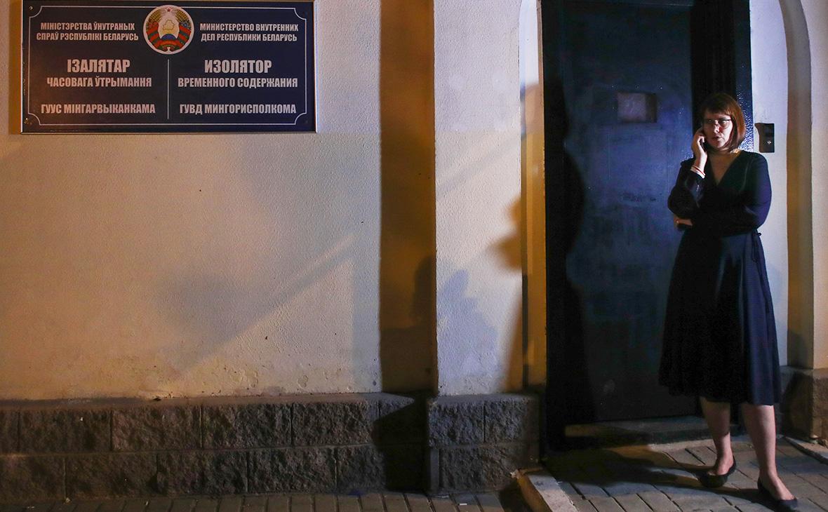 МВД Белоруссии объяснило освобождение соратницы Тихановской