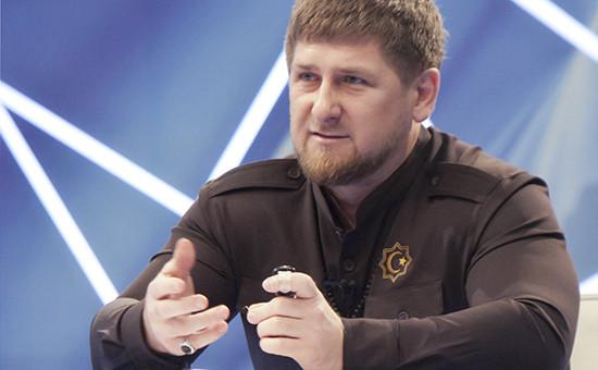 Глава администрации Чечни Рамзан Кадыров