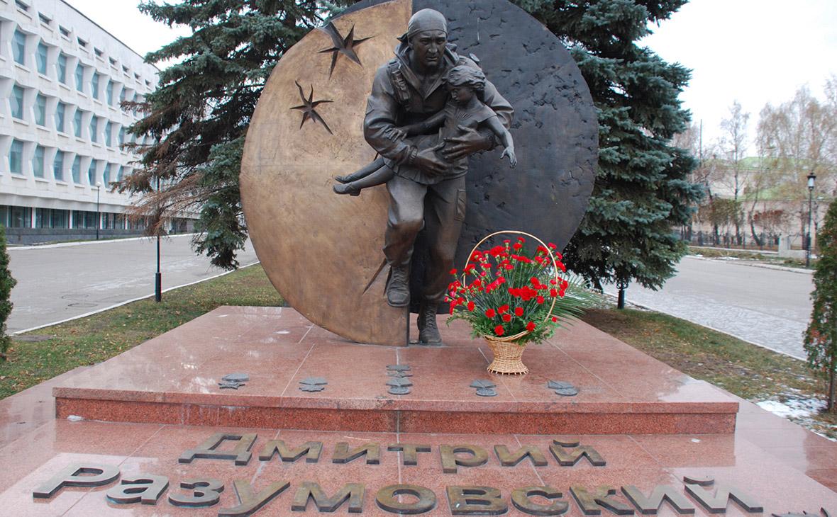 Памятник Дмитрию Разумовскому вУльяновске.