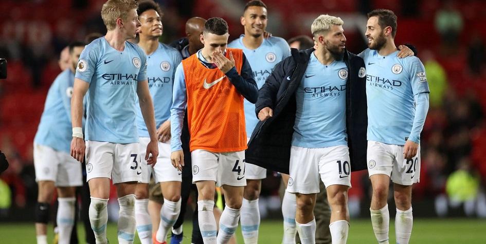 Манчестер Сити обыграл МЮ и возглавил таблицу чемпионата Англии