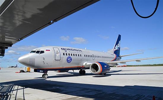 Самолет авиакомпании «Нордавиа»