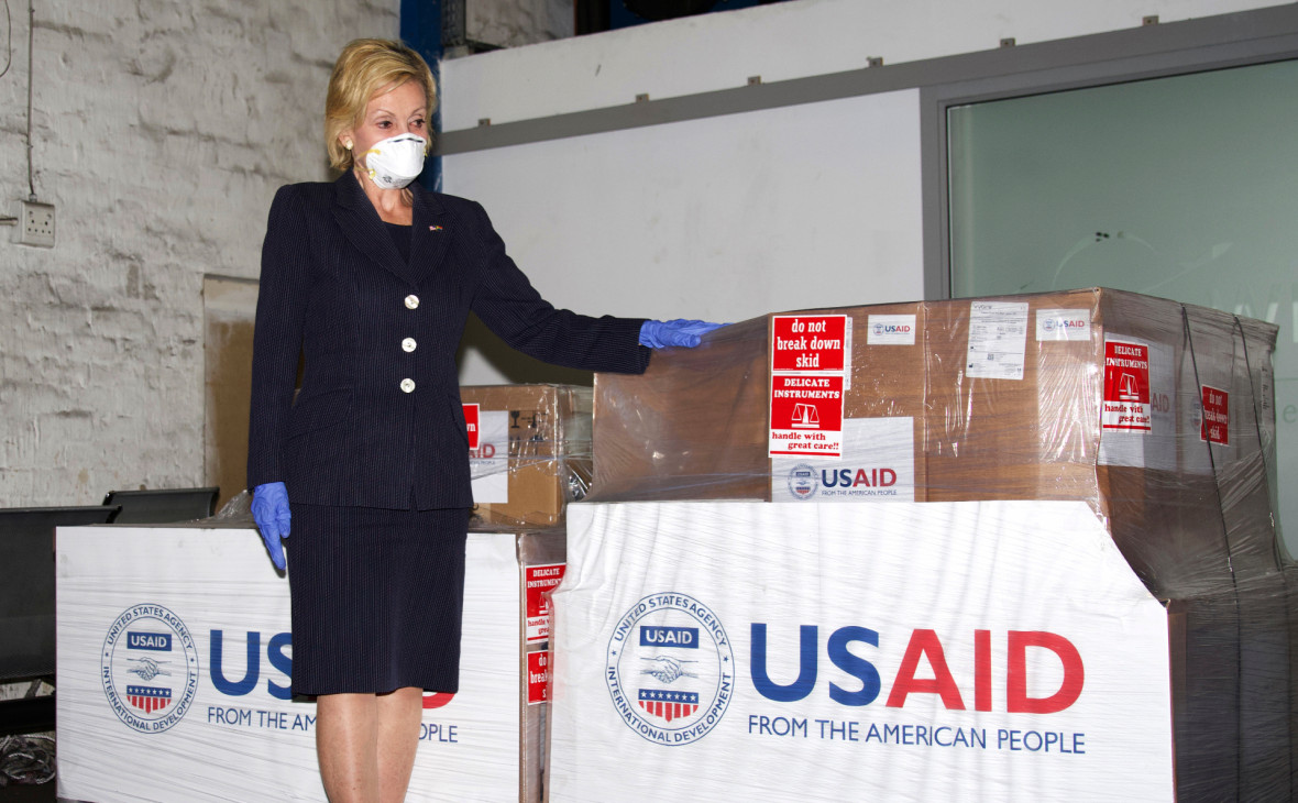 Фото:Leon Kgoedi / посольство США в ЮАР / AP