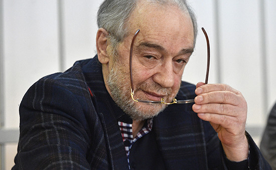 Предприниматель Левон Айрапетян назаседании Замоскворецкого районногосуда12 апреля 2016 года