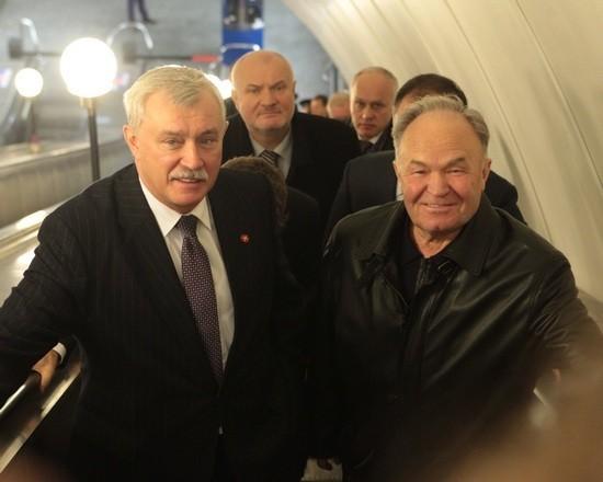 Фото:Г.Полтавченко и В.Гарюгин/gov.spb.ru