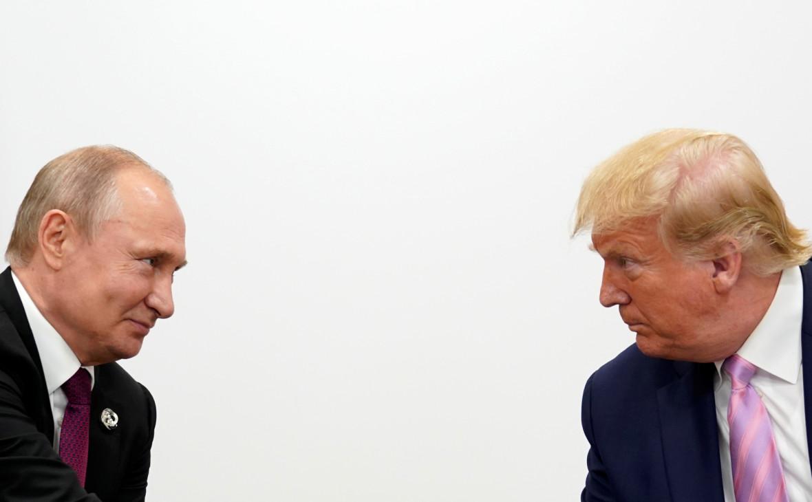Трамп назвал отличной встречу с «прекрасным парнем» Путиным