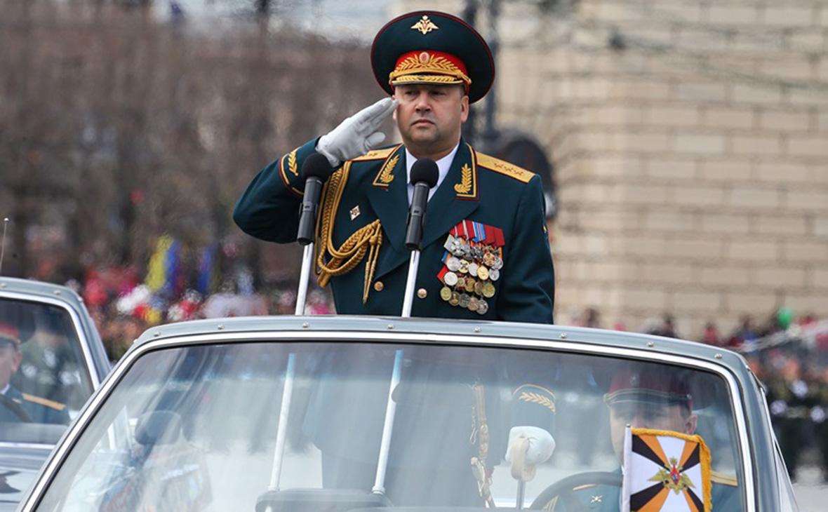 Сергей Суровикин. 9 мая 2015 года