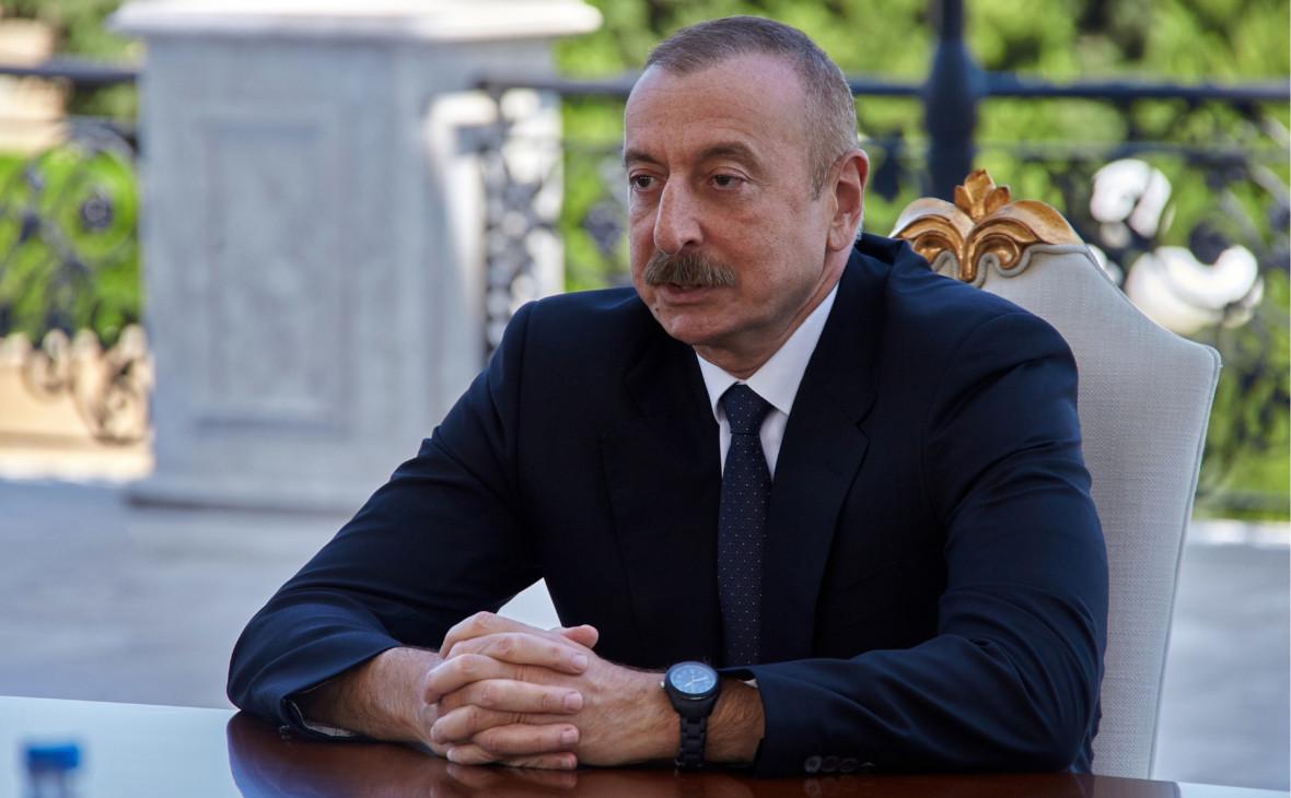 Алиев распорядился создать временную администрацию на части Карабаха