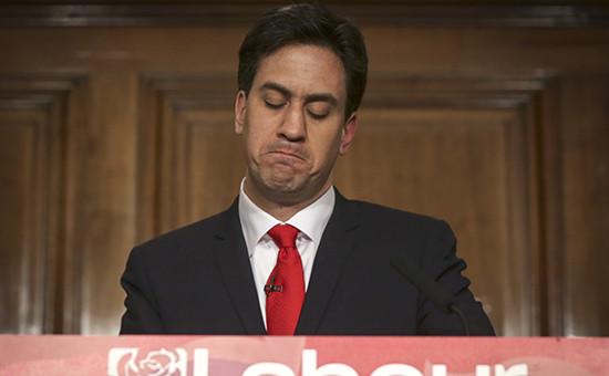 Эд Милибэнд, лидер Лейбористской партии Великобритании