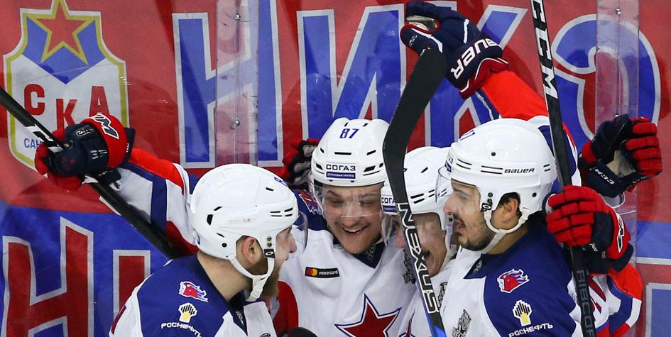 Первый матч полуфинала плей-офф по хоккею завершился в овертайме
