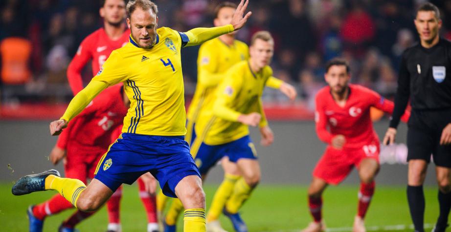 Швеция обыграла Турцию и сохранила шансы обогнать Россию в Лиге наций