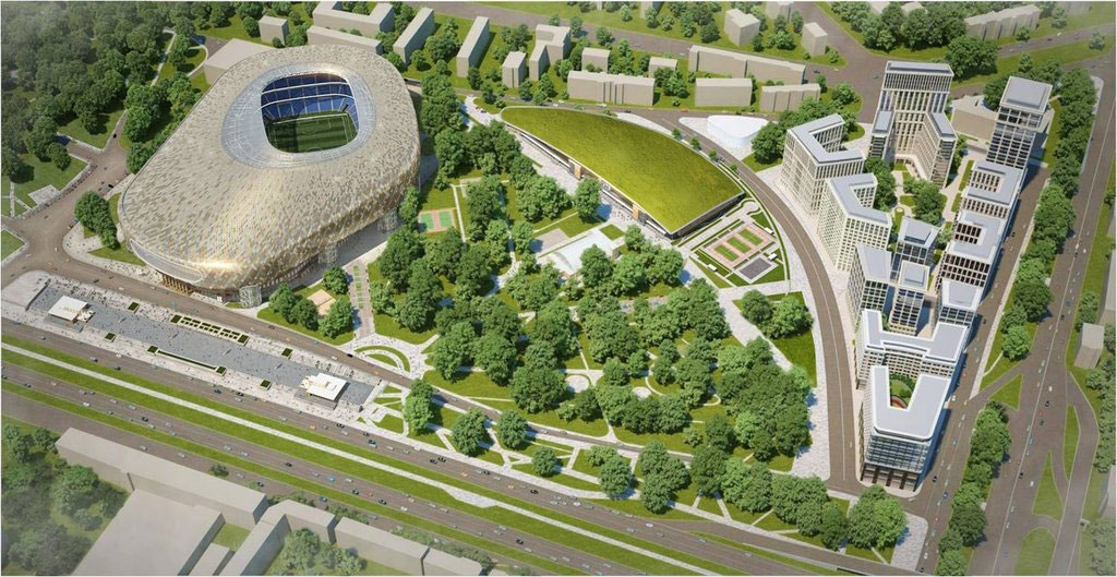Фото:Многофункциональный комплекс «ВТБ Арена Парк»