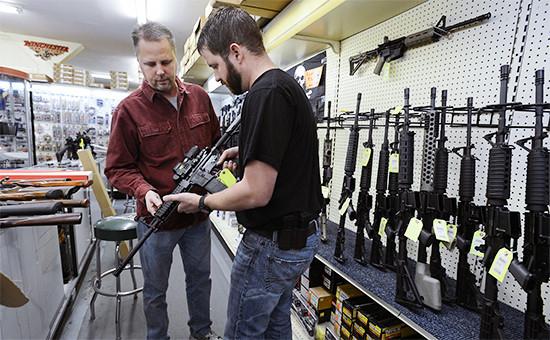 Оружейный магазин вСеверной Каролине, США