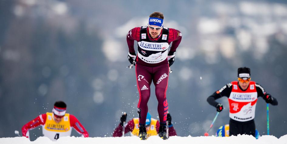 Лыжник Сергей Устюгов выиграл второй этап Тур де Ски