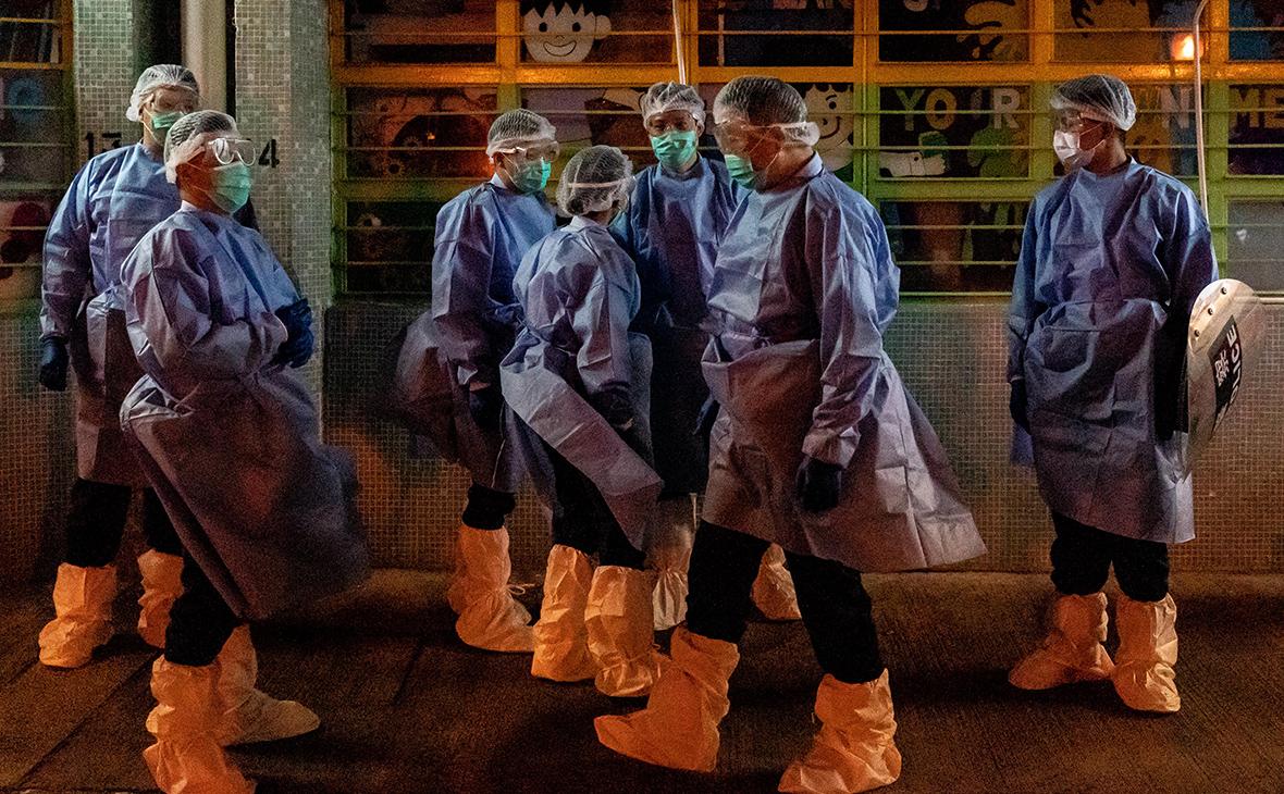 Британские медики сообщили о замедлении распространения эпидемии