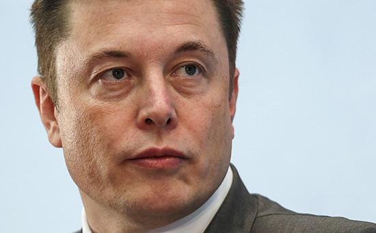 Глава компаний SpaceX и Tesla Motors Илон Маск