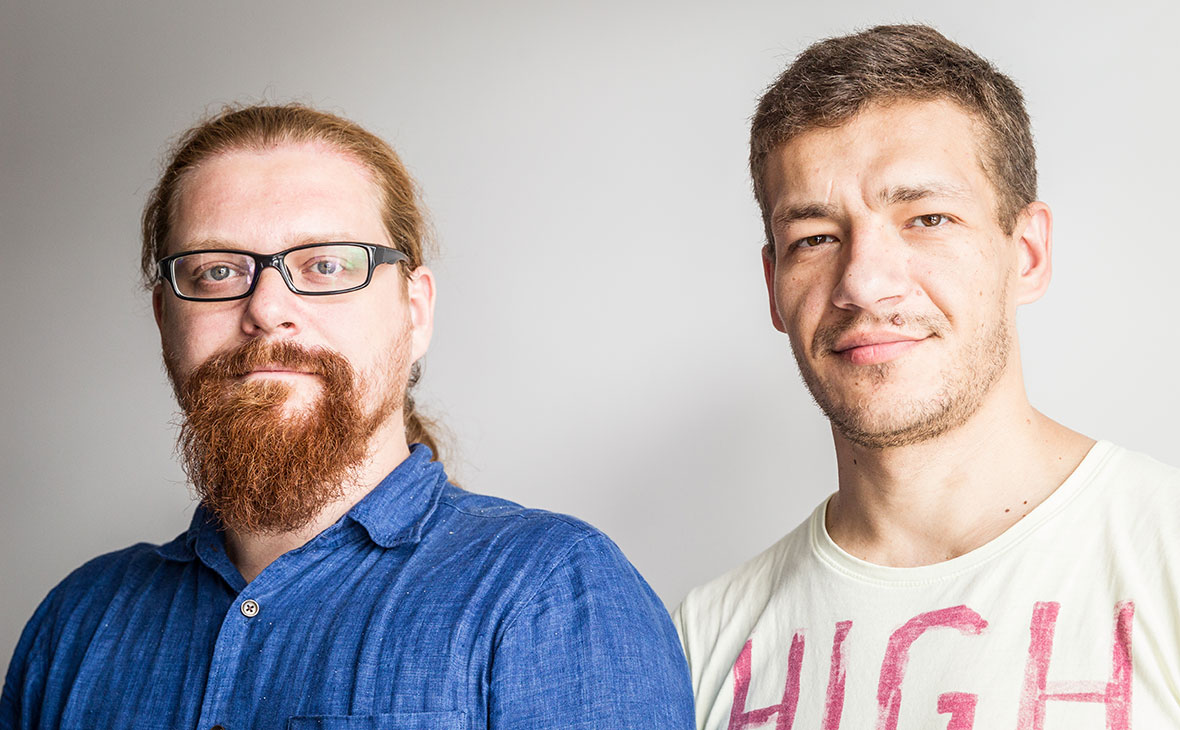 Константин Урванцев иАлексей Ирков(слева направо)