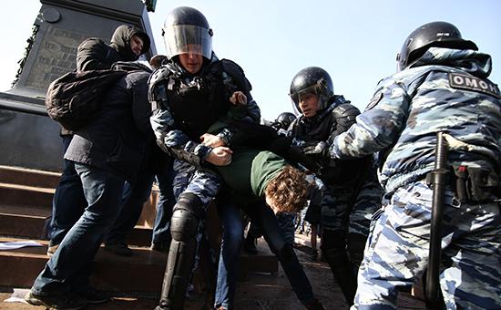 Несанкционированная акция против коррупции в Москве. 26 марта 2017 года