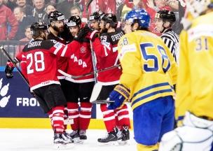 Канада Швеция ЧМ-2015