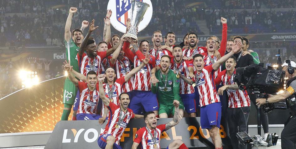 «Атлетико» разгромил «Марсель» в финале Лиги Европы