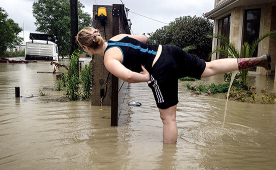Последствия дождя в Сочи