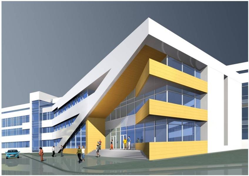 Фото: Эскиз будущего онкоцентра