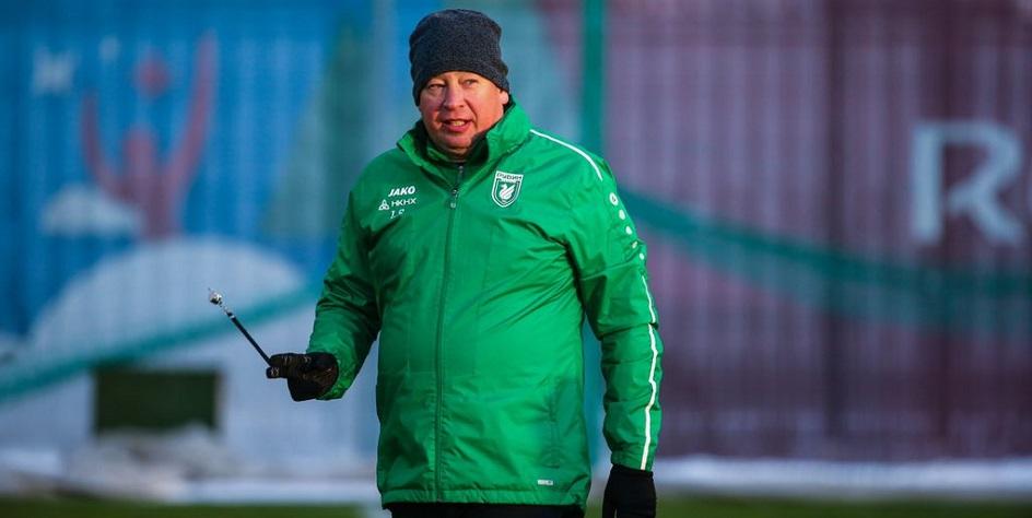Главный тренер «Рубина» Леонид Слуцкий