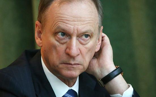 Глава Совета безопасности России Николай Патрушев