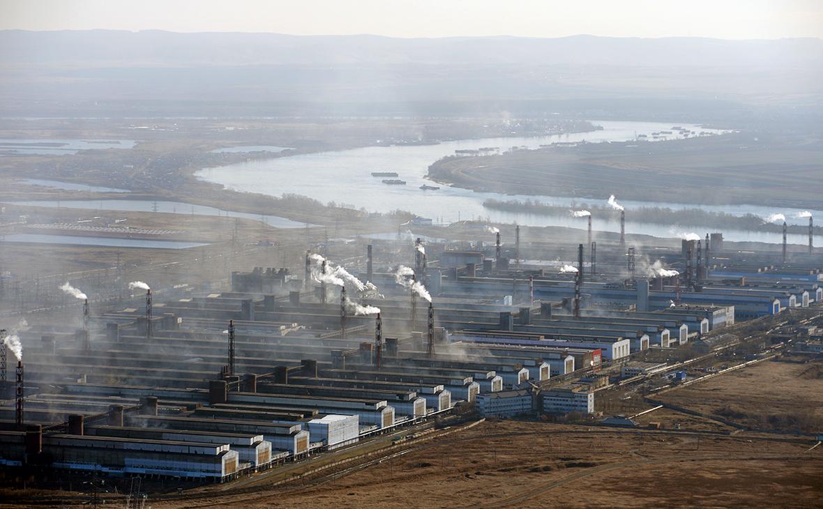 Красноярский алюминиевый завод компании «Русал»