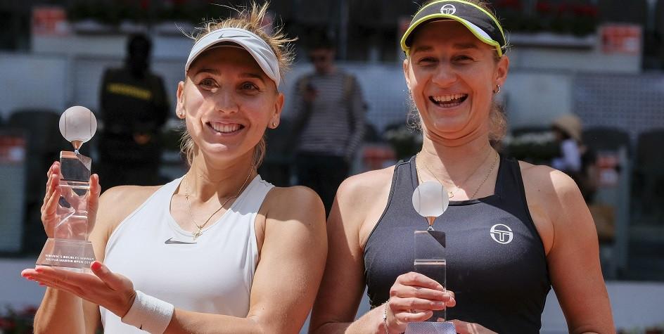 Российские теннисистки впервые с 2000 года возглавят парный рейтинг WTA