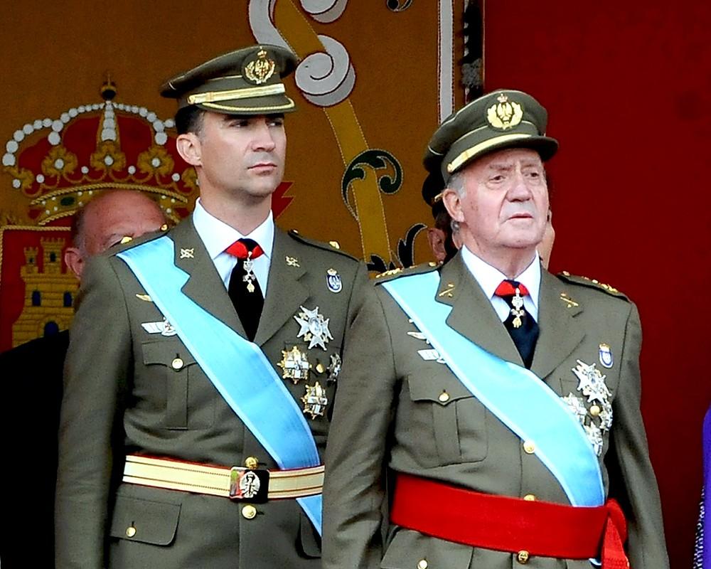 Король испании имеет право