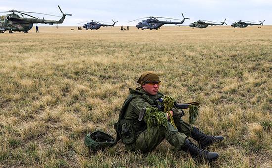 Стратегические учения армии России «Центр-2015»