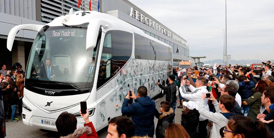 «Реал» отказался от автобуса с клубной символикой для поездки в Каталонию