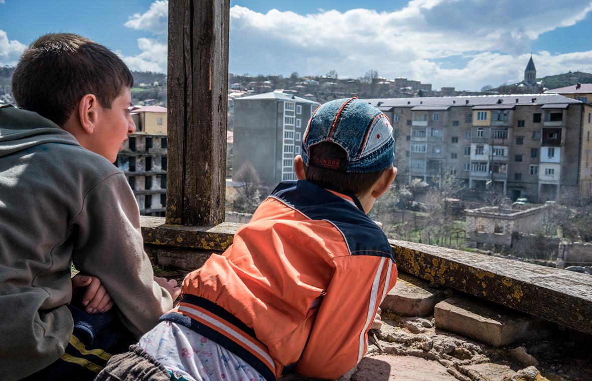 Шуша, Нагорный Карабах. 19 апреля 2015 года