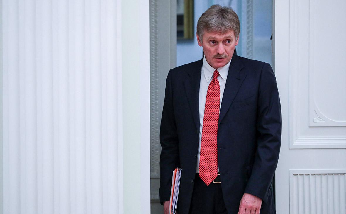 Кремль ответил на просьбу главы МВД об отставке генералов из-за Голунова