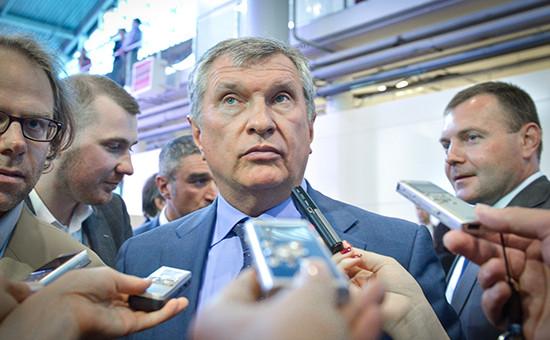Глава «Роснефти» Игорь Сечин