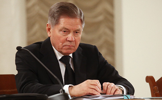 Председатель Верховного суда Вячеслав Лебедев на IX Всероссийском съезде судей