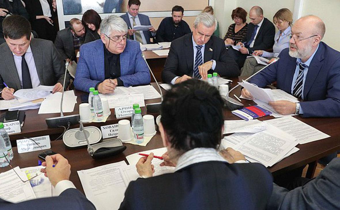 Заседание Комитета по государственному строительству и законодательству