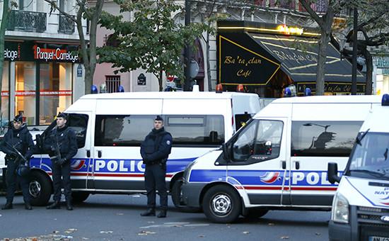 Спецслужбы на улицах Парижа