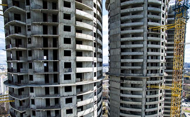 Незавершенное строительство жилых домов