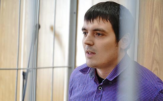 Спецкор РБК Александр Соколов назаседании Хамовнического суда