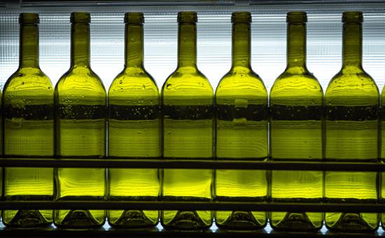 Конвейер на винодельческом заводе