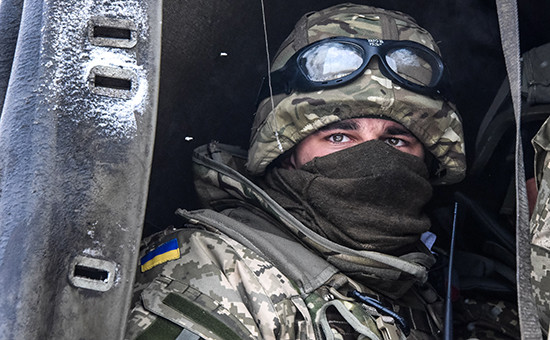Военнослужащий украинской армии